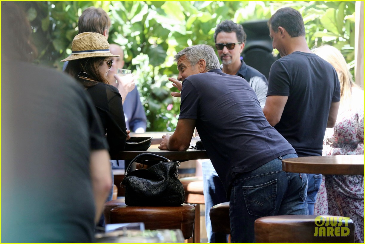 George Clooney & Amal Alamuddin Celebrate Their Engagement Surrounded By Celebrity Friends! George-clooney-celebrates-engagement-to-amal-alamuddin-surrounded-by-celebrity-pals-09