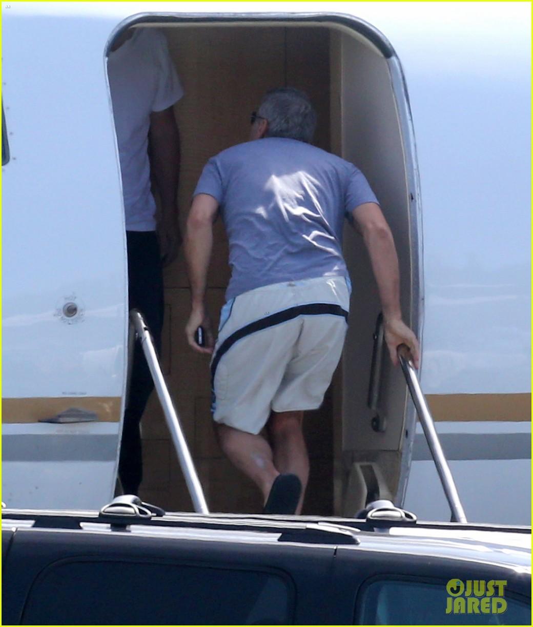 george clooney fiancee amal alamuddin catch a private flight 053103219