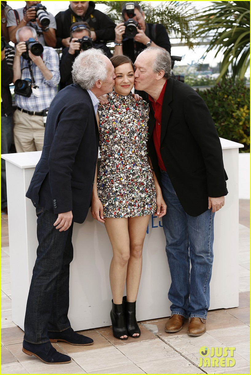 marion cotillard cannes two days one night photo call 053117999