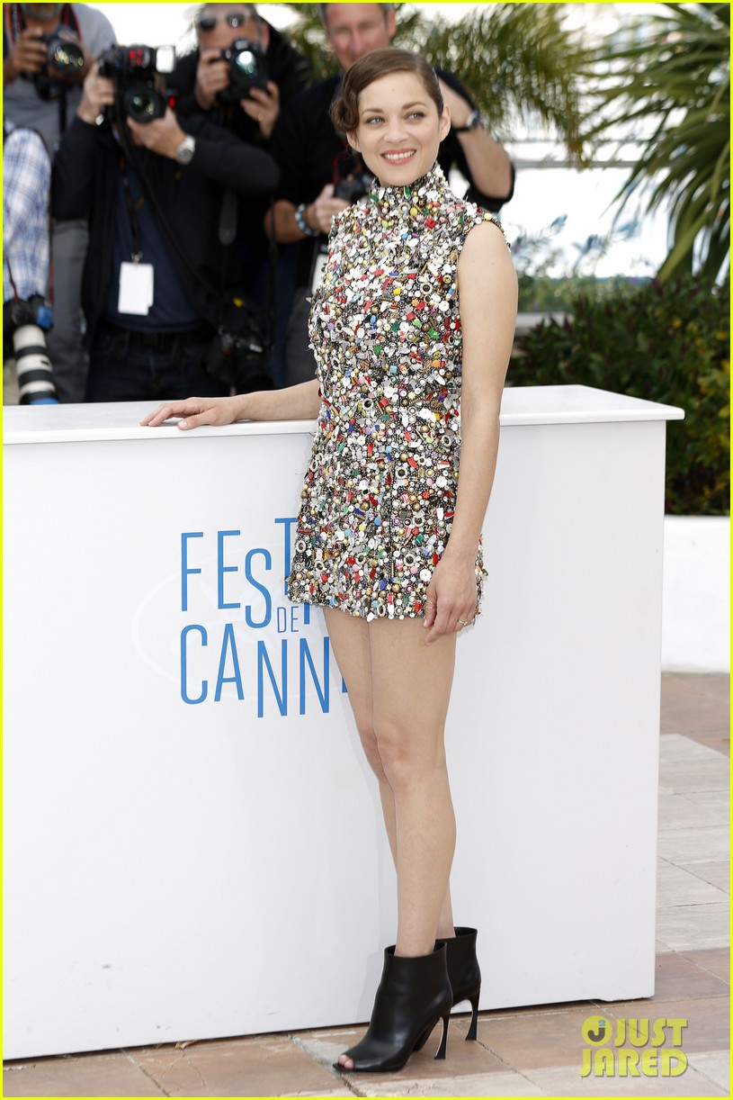 marion cotillard cannes two days one night photo call 123118006