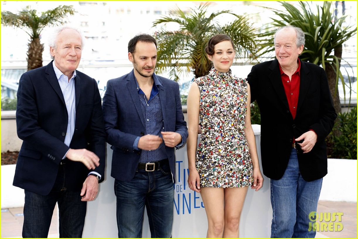 marion cotillard cannes two days one night photo call 153118009