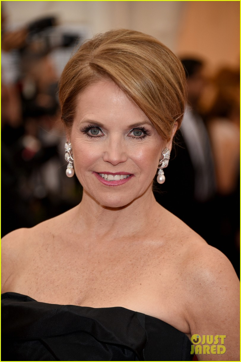 katie couric white glove glam at met ball 2014 033105996