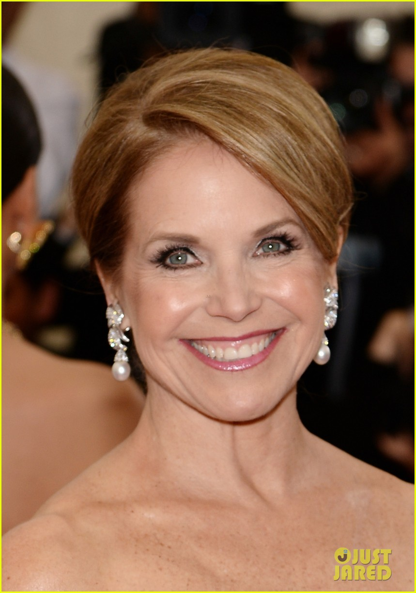 katie couric white glove glam at met ball 2014 063105999