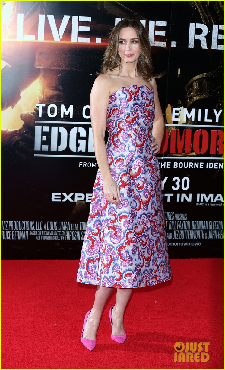 tom cruise emily blunt premiere edge of tomorrow in london 133123179