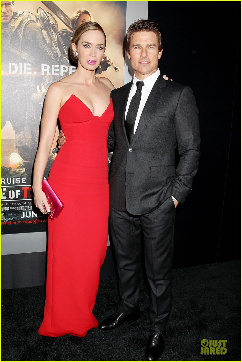 tom cruise emily blunt edge of tomorrow premiere final 063123590