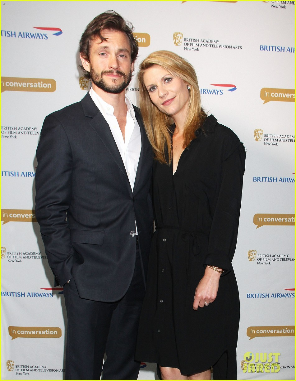 claire danes supports hubby hugh dancy at bafta conversation 033114952