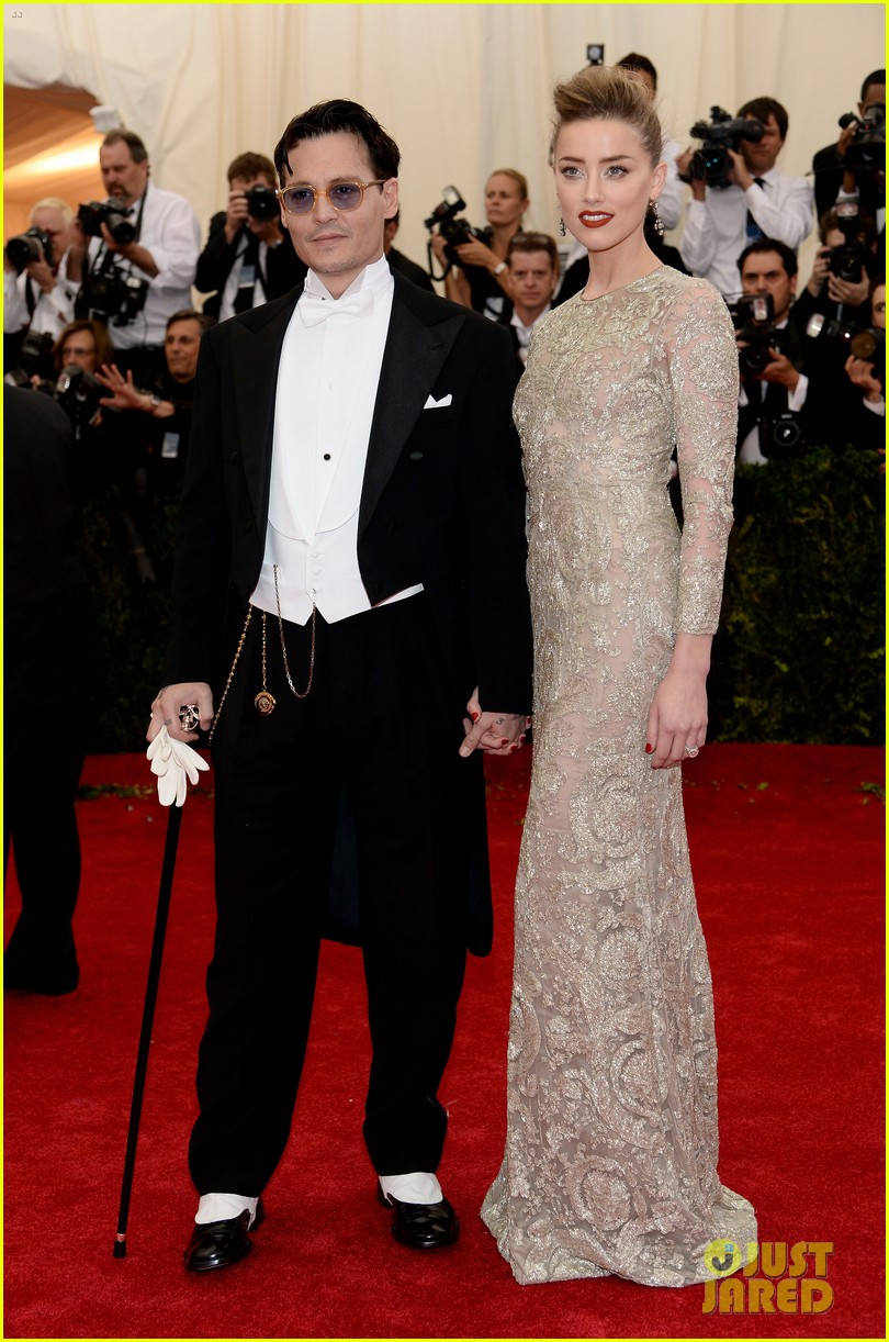 johnny depp amber heard met ball 2014 05
