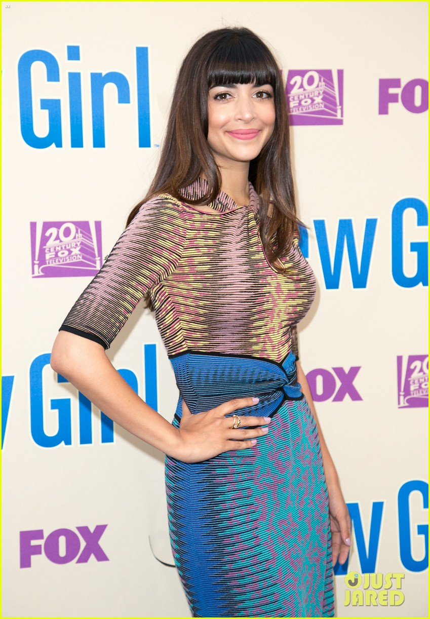 zooey deschanel joins new girl cast for season three finale screening 153109322