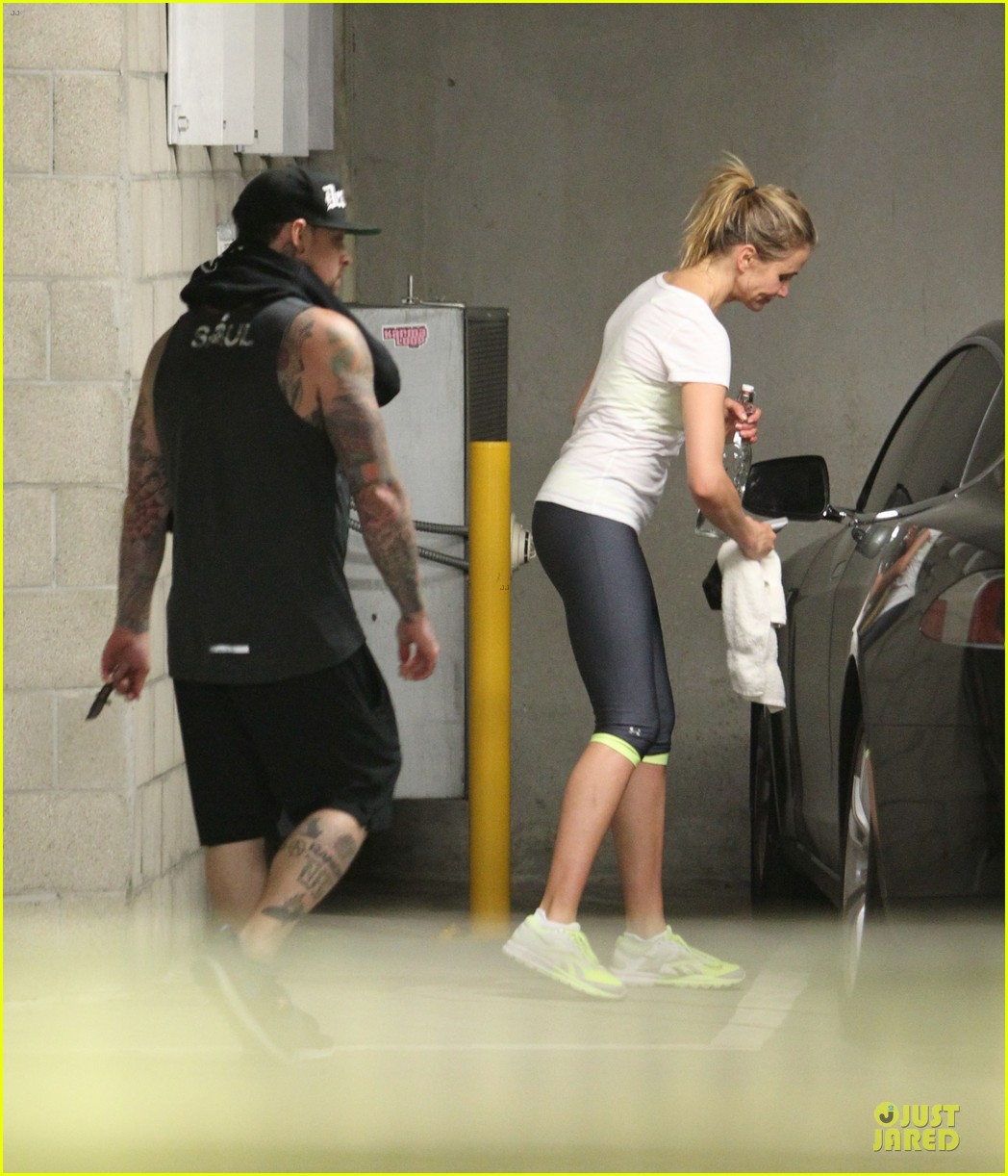 cameron diaz benji madden new couple alert 12