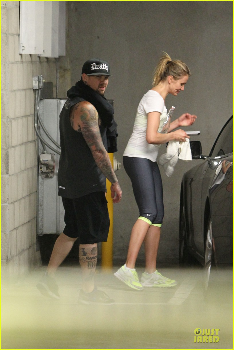 cameron diaz benji madden new couple alert 183115839