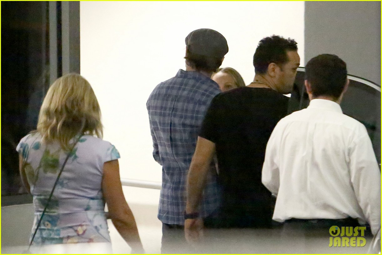 leonardo dicaprio roots for l a dodgers during lunch outing 053102881