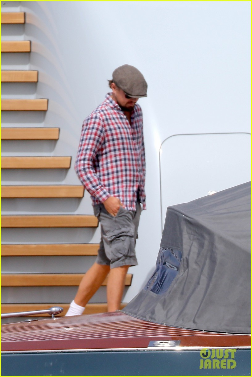 leonardo dicaprio steps out in cannes after partying 053119219