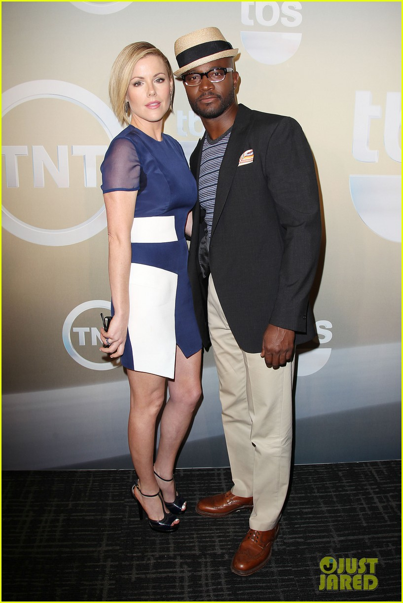 taye diggs eric dane bring sexy factor to tnt tbs upfronts 2014 373113330