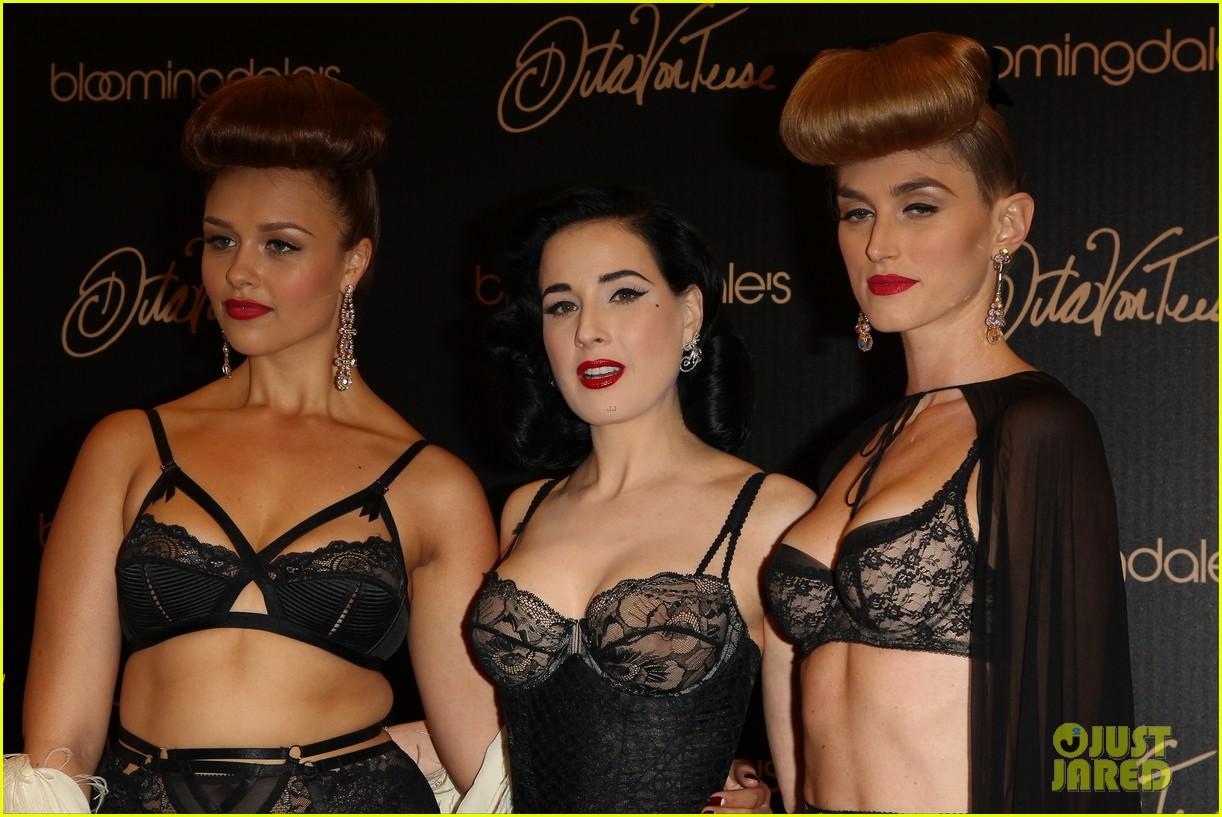 dita von teese new lingerie line bloomingdales 123116629