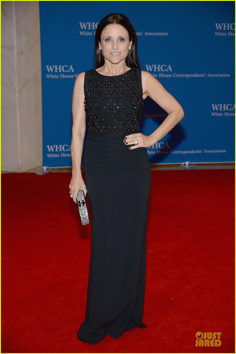 julia louis dreyfus white correspondents dinner moment 073104665