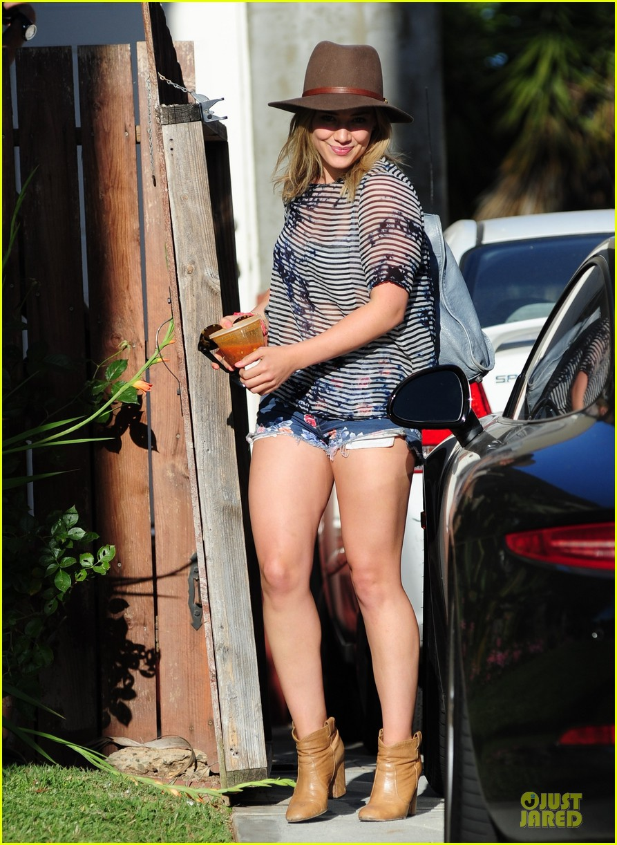 hilary duff ed sheeran recording music together 033115409