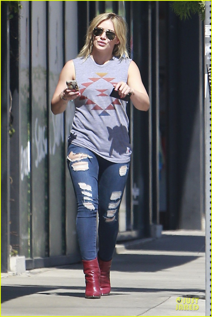 hilary duff ed sheeran recording music together 233115429