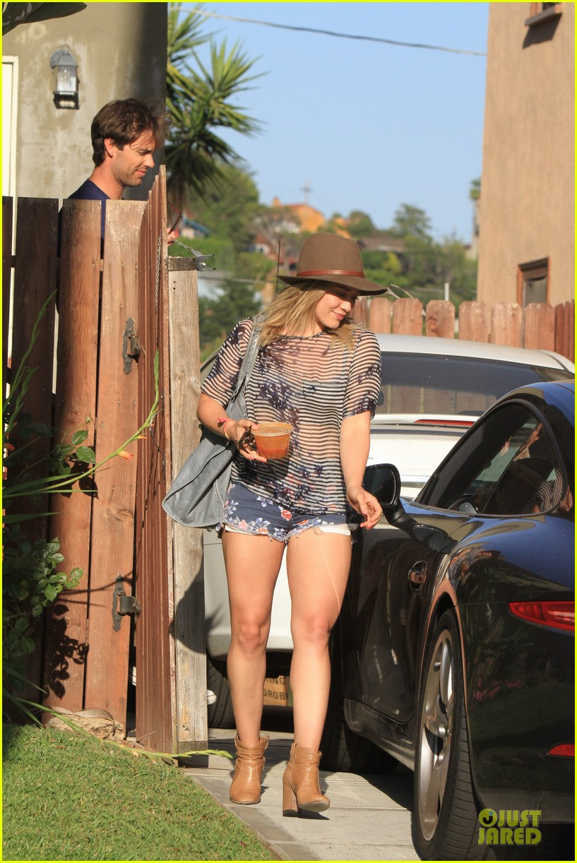hilary duff ed sheeran recording music together 283115434