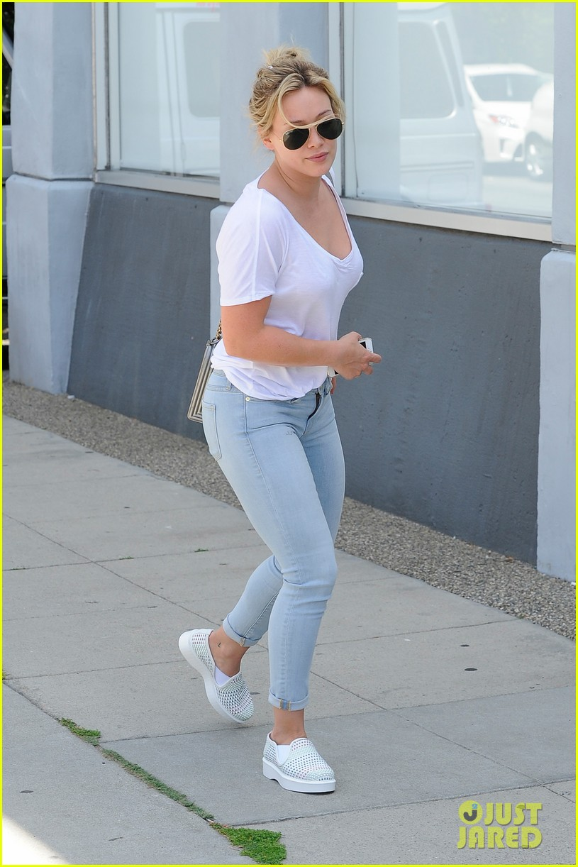 hilary duff recording a song with ed sheeran 053105374
