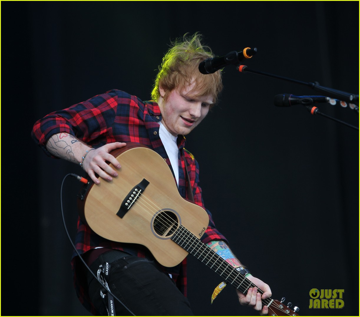 ed sheeran big weekend glasgow 013121387