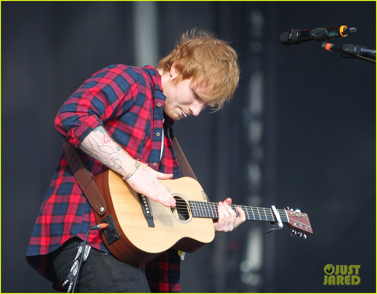 ed sheeran big weekend glasgow 16