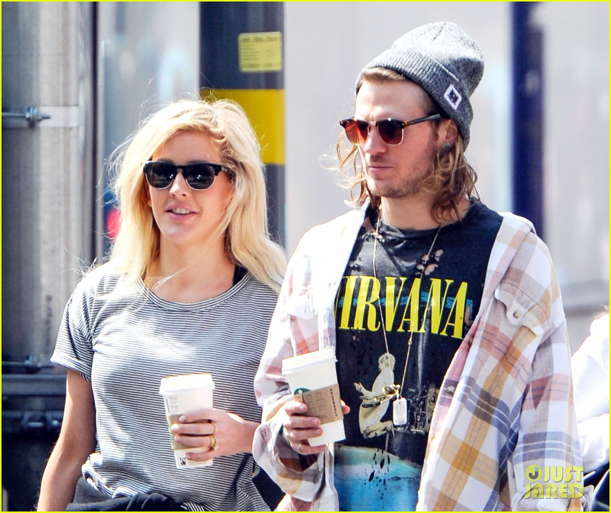 ellie goulding dougie poynter hands food 103117663