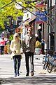 dakota fanning holds boyfriend jamies hand in nyc20