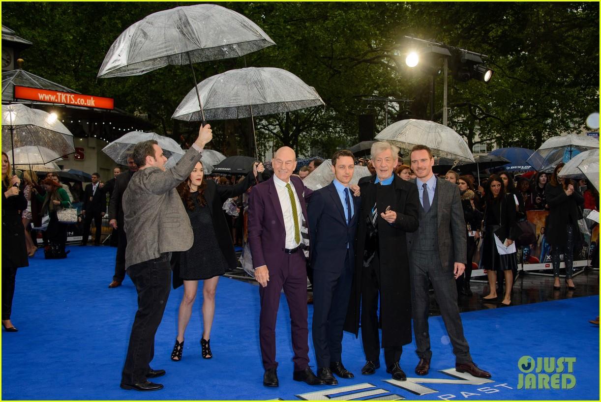 michael fassbender james mcavoy x men london premiere 033111689
