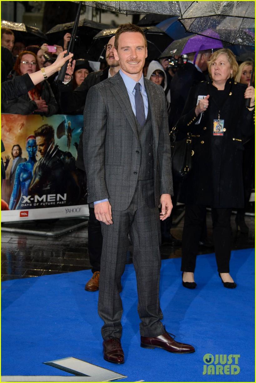 michael fassbender james mcavoy x men london premiere 113111697