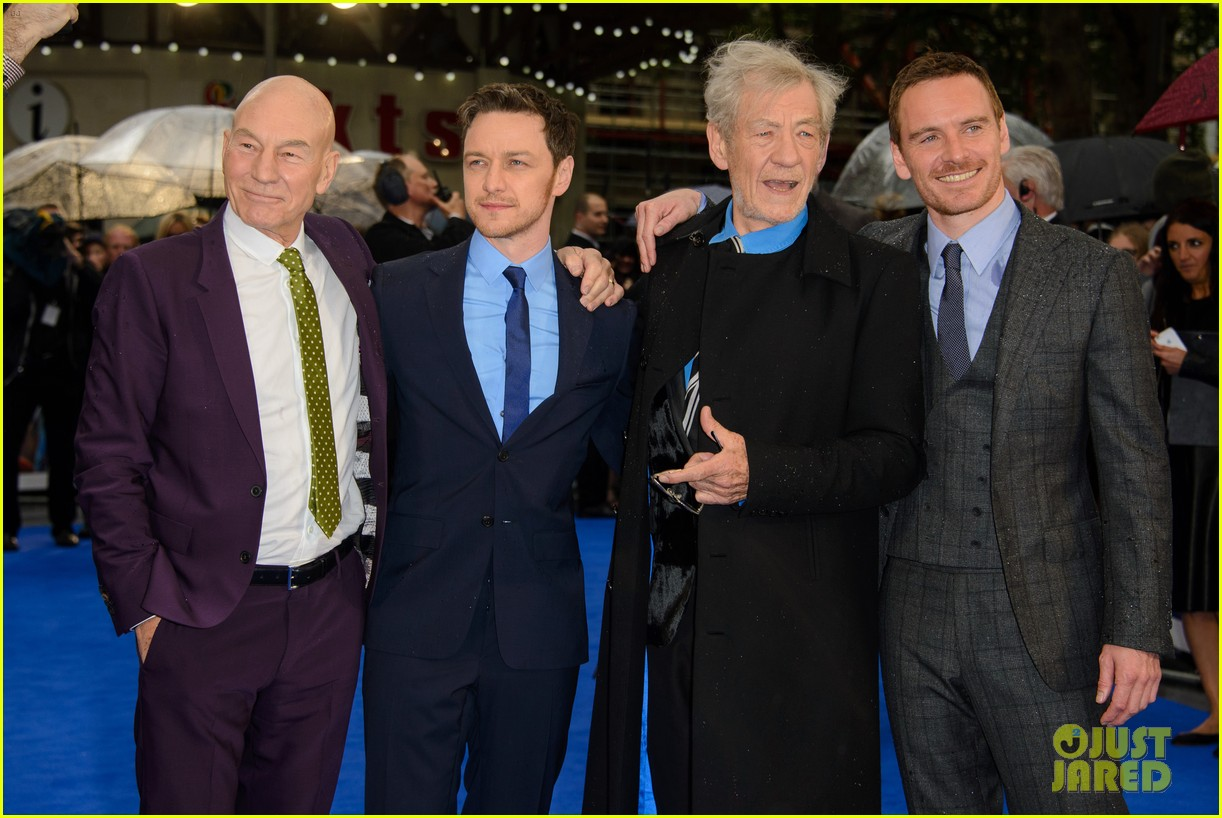michael fassbender james mcavoy x men london premiere 233111709