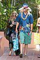 fergie josh duhamel dress up for surfing themed party 01