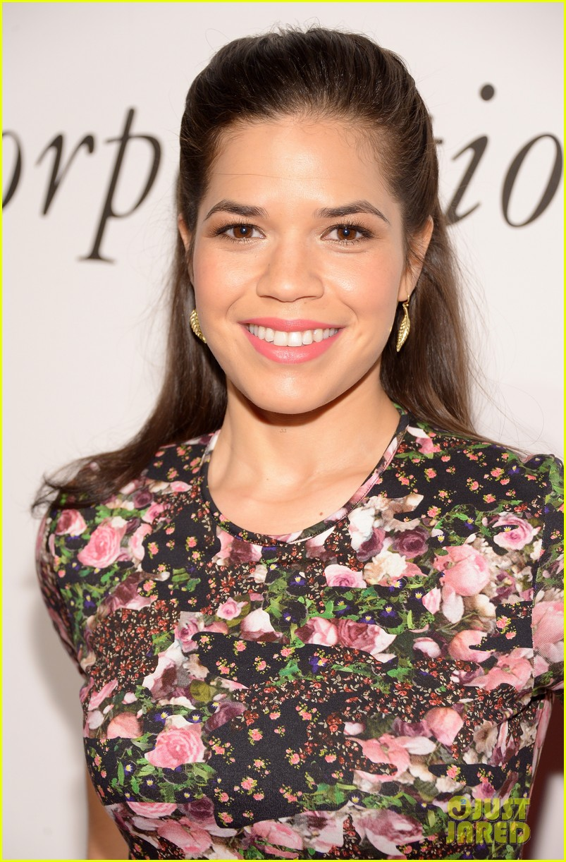 america ferrera goes floral women who care 043107722