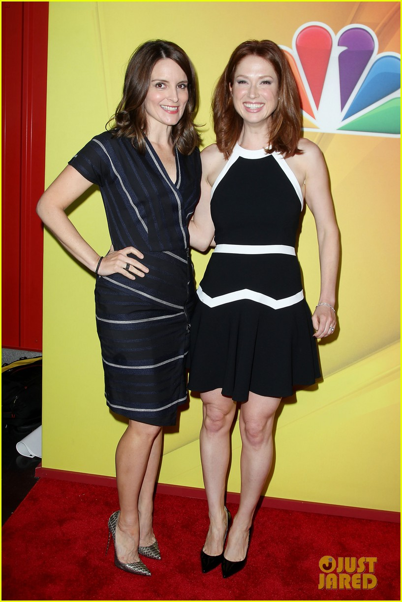 tina fey ellie kemper team up at nbc upfronts 2014 013111627