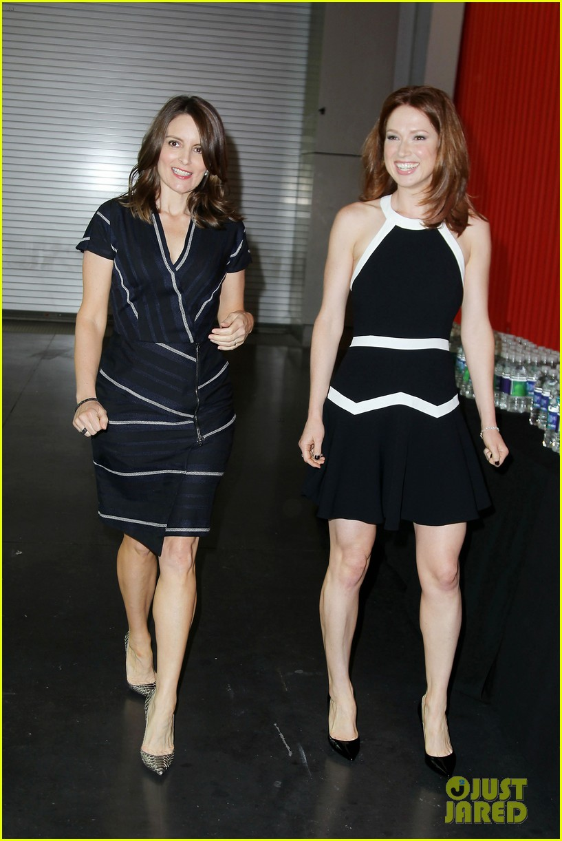 tina fey ellie kemper team up at nbc upfronts 2014 173111643