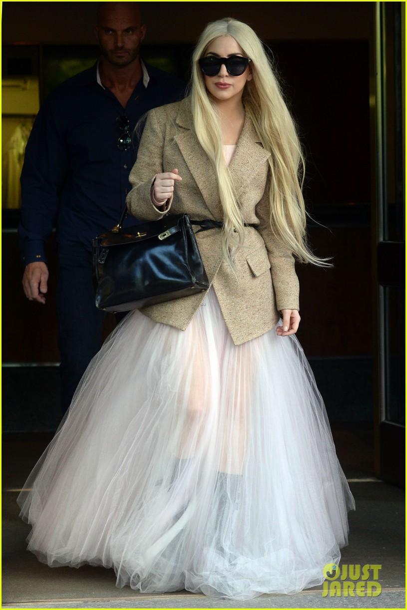 lady gaga sheer gown nyc best day off ever 043122078