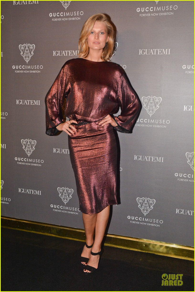 toni garrn sexy back at gucci museo exhibit 083123626