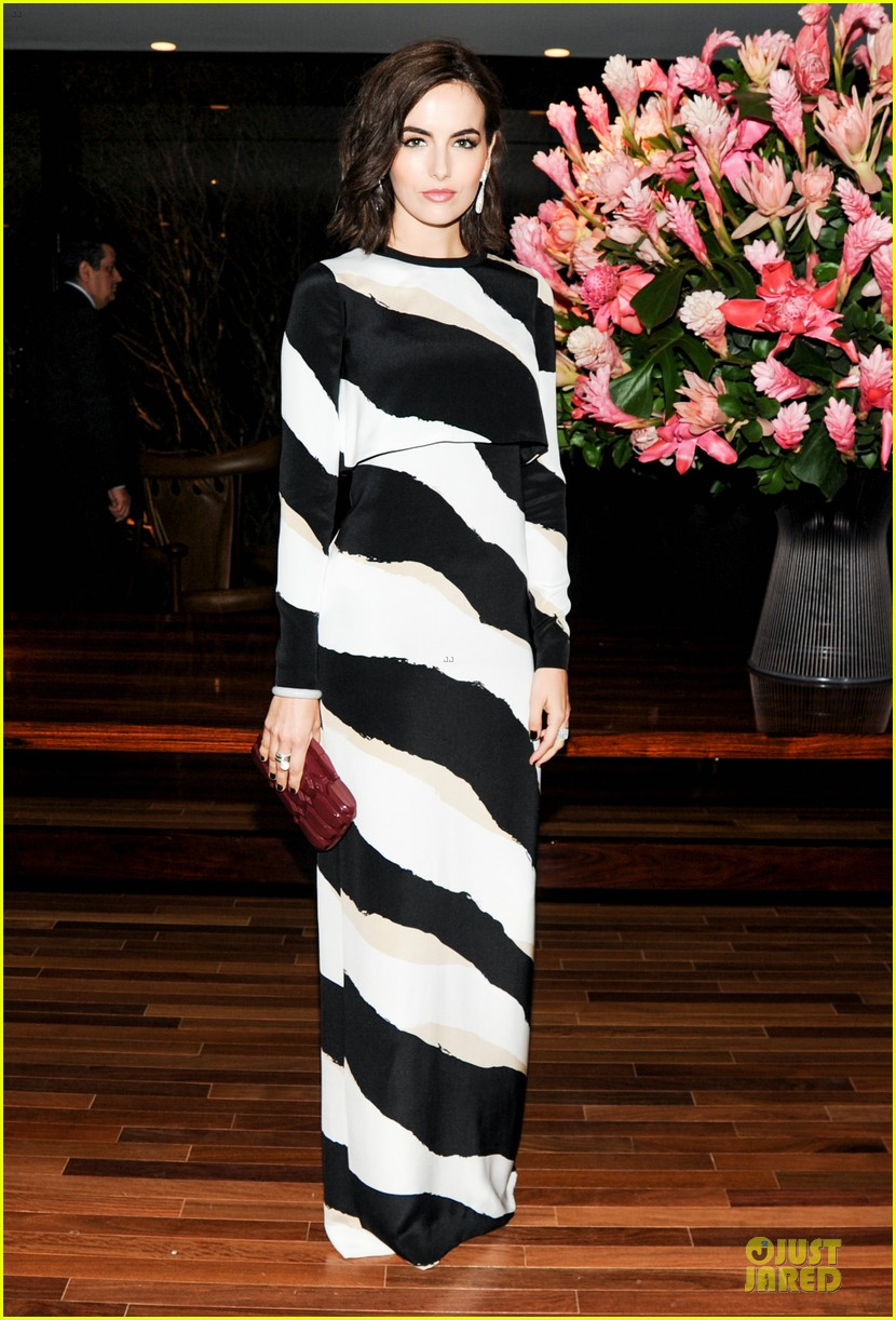 toni garrn camilla belle stun at gucci museo dinner 033123383