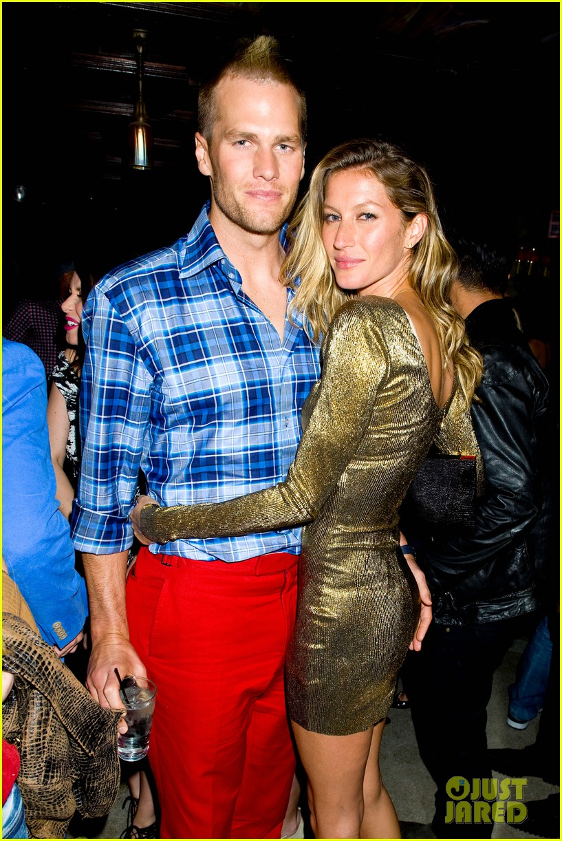gisele bundchen tom brady harry joshs harrysparty exclusive photos 013105497