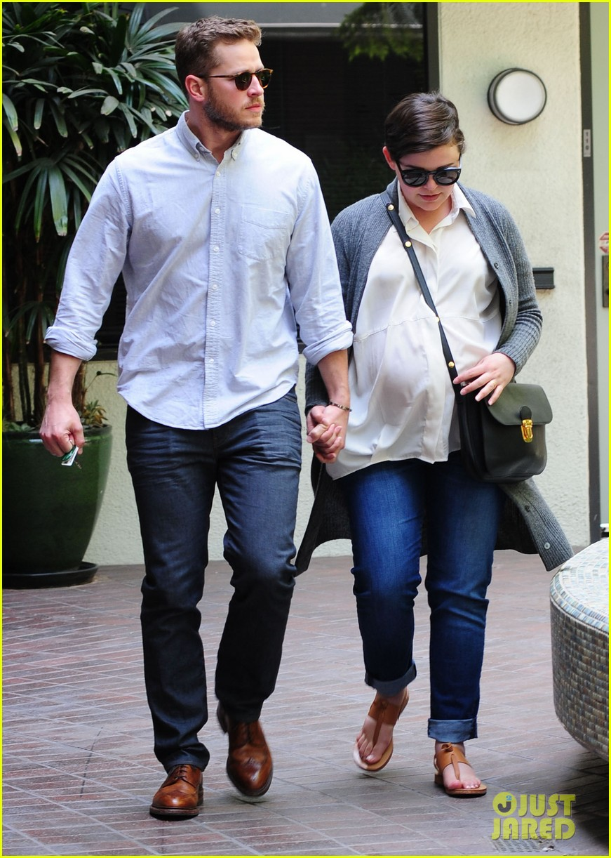 ginnifer goodwin looks like she could give birth any day now 123109358