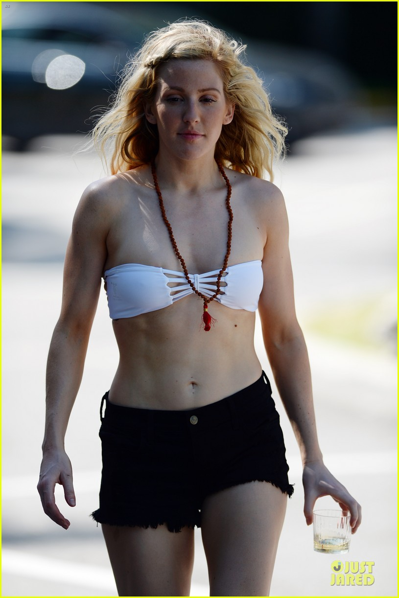 ellie goulding abs in bikini in miami 023107264