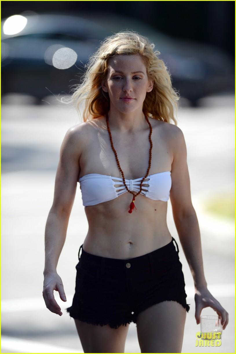 ellie goulding abs in bikini in miami 093107271