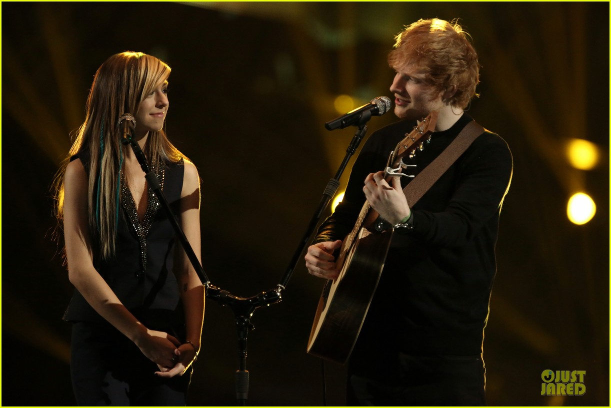christina grimmie ed sheeran perform all of the stars voice 043118482