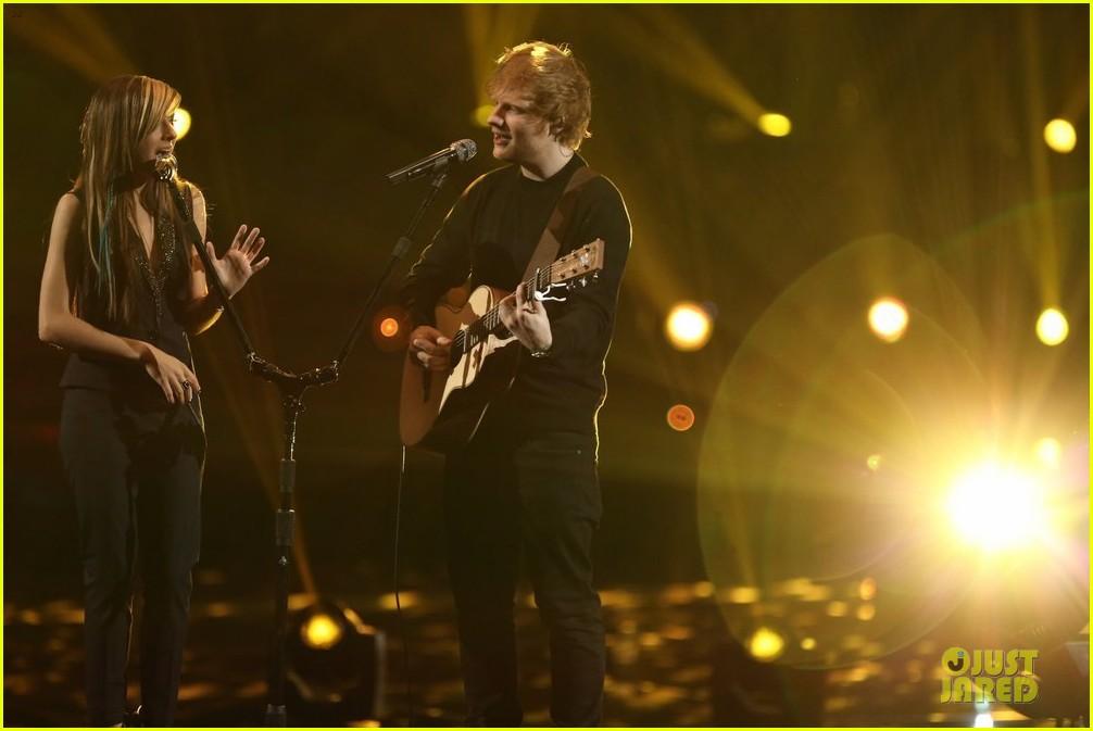 christina grimmie ed sheeran perform all of the stars voice 093118487