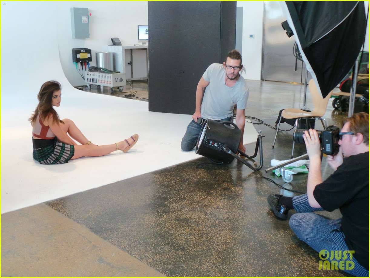 lucy hale jj spotlight behind the scenes 103122727