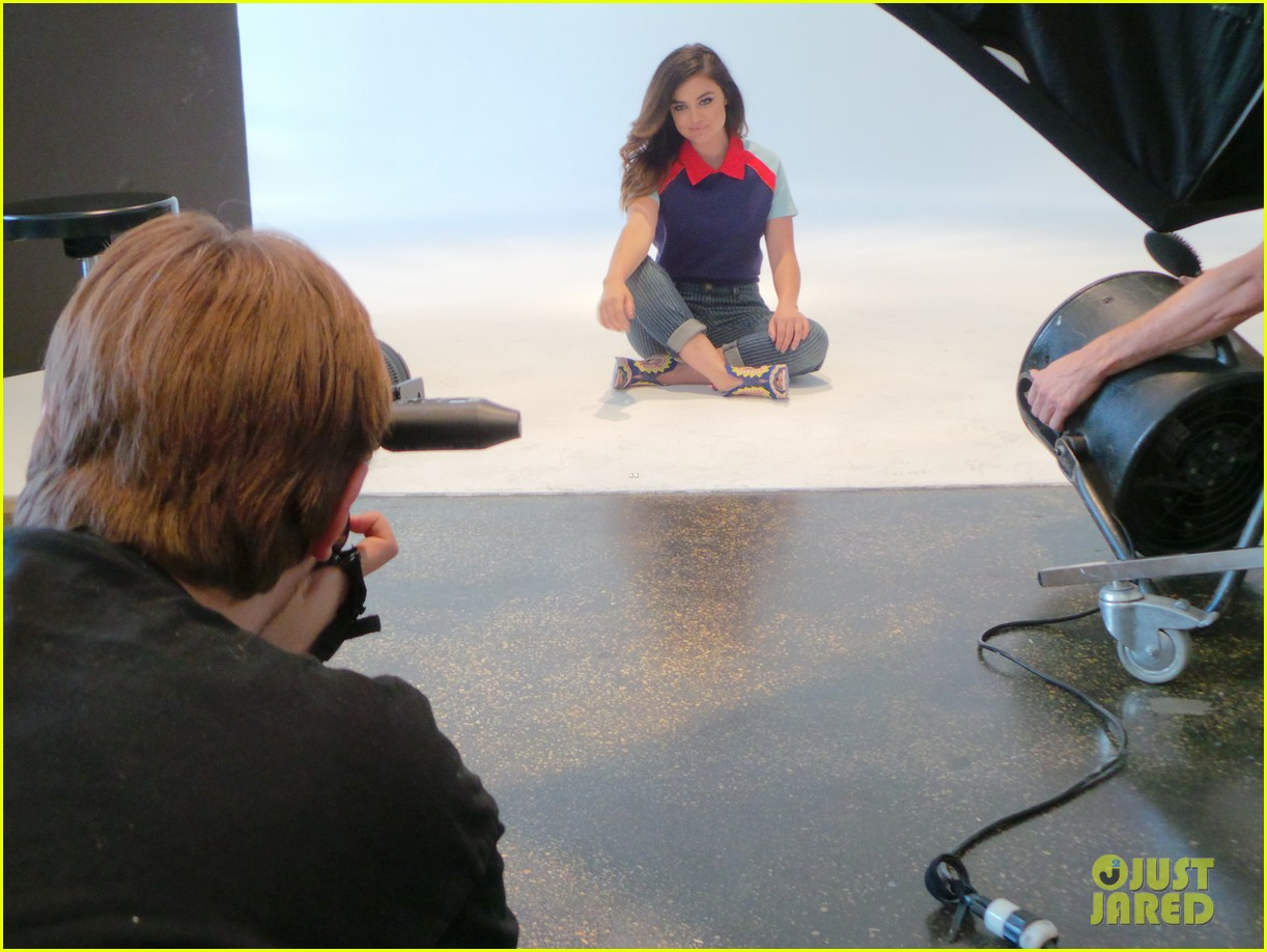 lucy hale jj spotlight behind the scenes 113122728
