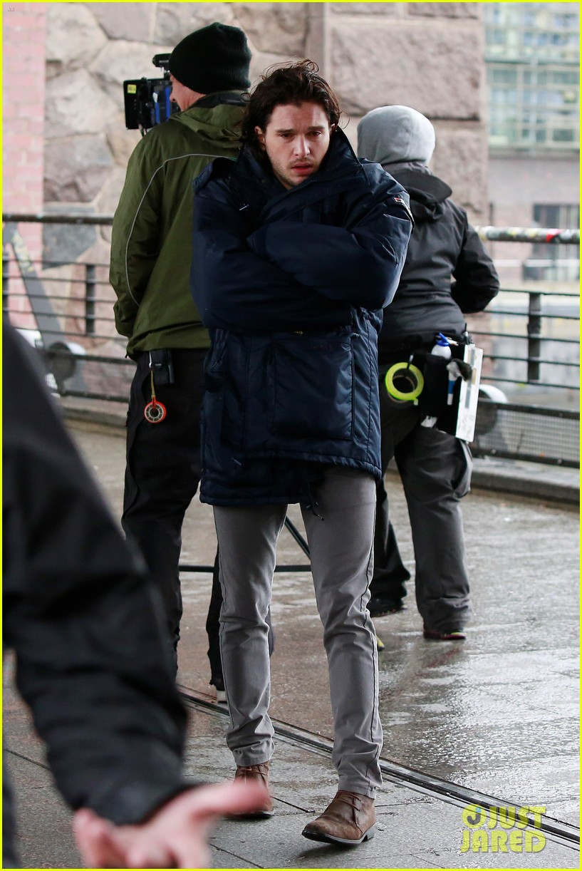 kit harington gets the major chills on spooks the greater good set 013123301