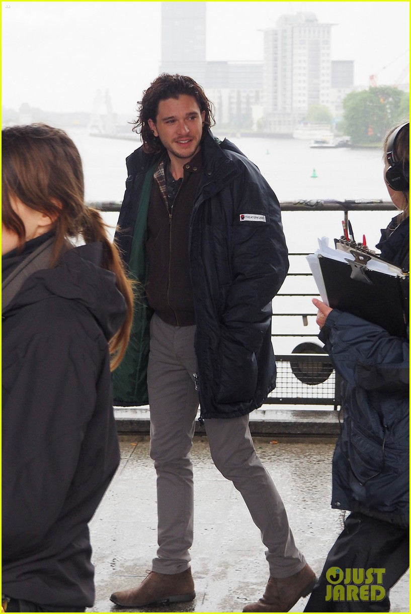 kit harington gets the major chills on spooks the greater good set 033123303