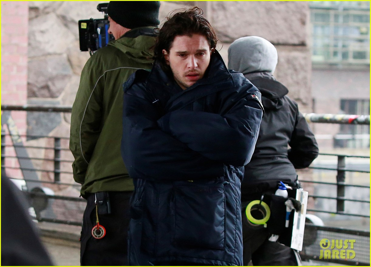 kit harington gets the major chills on spooks the greater good set 04