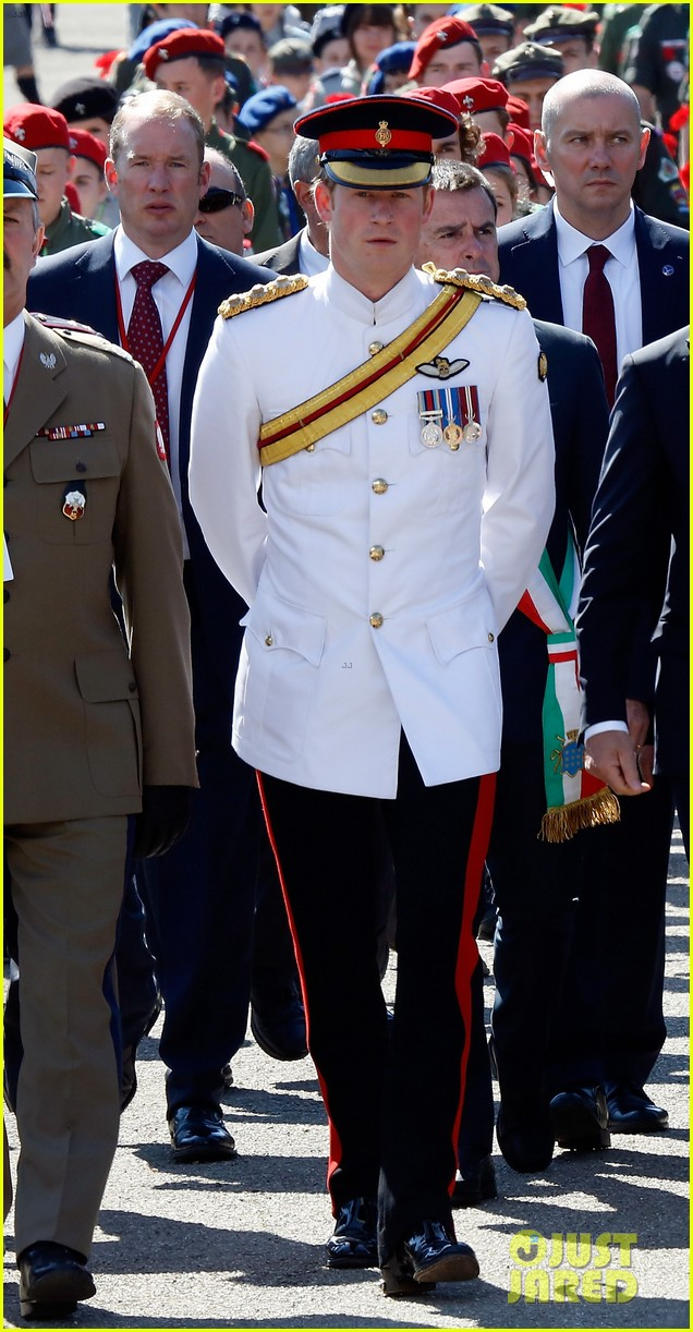 prince harry commemorative event italy 013116576