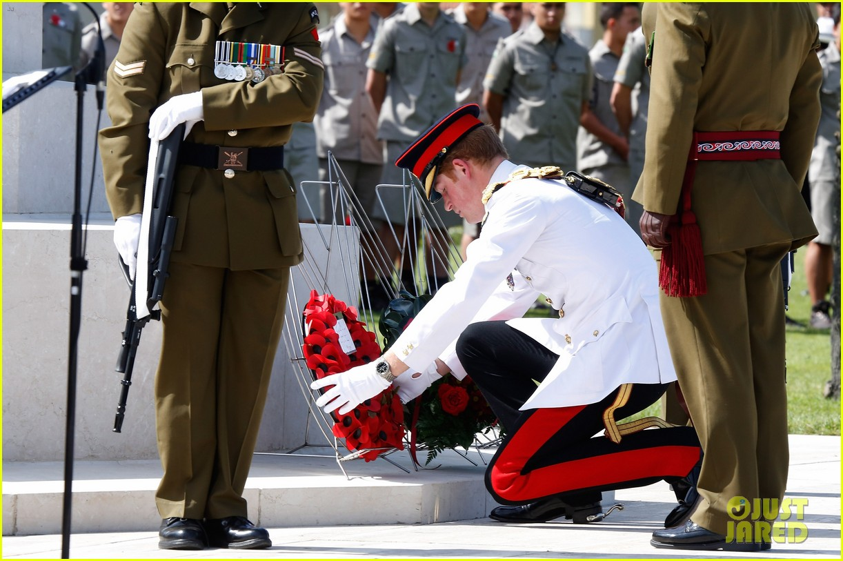 prince harry commemorative event italy 123116587